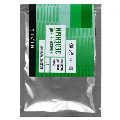 Краситель сухой MIXIE Классический зелёный 10 г