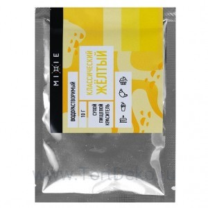 Краситель сухой MIXIE Классический жёлтый 10 г