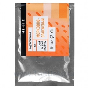 Краситель сухой MIXIE Морковно-оранжевый 10 г