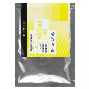 Краситель сухой MIXIE Желтый лимон 10 г