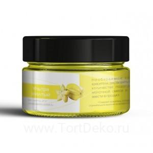 Краситель водорастворимый для макаронс, бисквита КондиПро (Ультра желтый), 10 гр