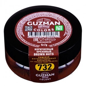 Краситель жирорастворимый Guzman (Коричневый ореховый) 5 г