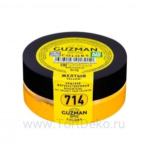 Краситель жирорастворимый Guzman (Желтый) 5 г