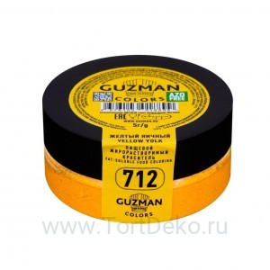 Краситель жирорастворимый Guzman (Желтый яичный) 5 г