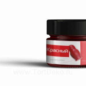 Краситель жирорастворимый сухой для шоколада КондиПро (Красный) 10 г