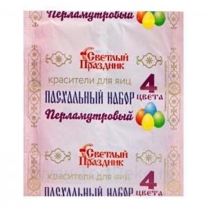 Красители пищевые 4 цвета Перламутр 5г*100шт
