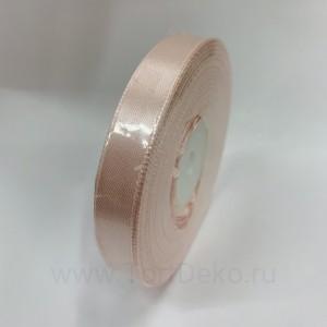 Лента атласная 12 мм, L-32,9 м (розовый светлый)