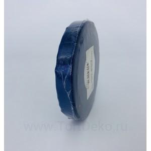 Лента атласная 12 мм, L-32,9 м (синий тёмный)