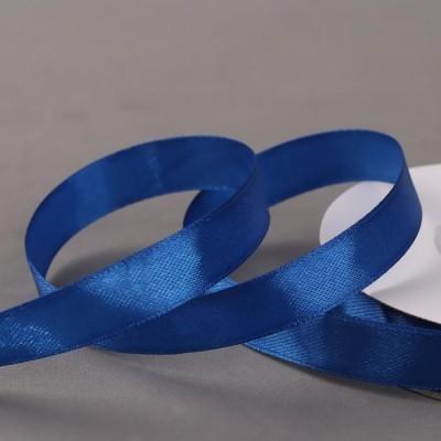 Лента атласная 12мм*30±1ярд синий