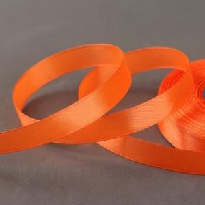 Лента атласная 12мм*33(±2)м №023 оранжевый Gamma