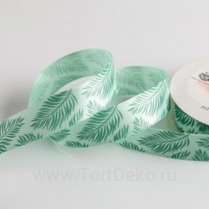 Лента атласная «Тропики», 2 см × 5 м