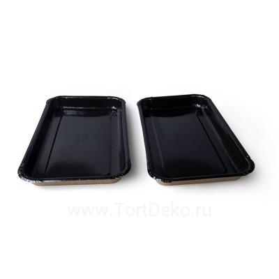Лоток ECO Platter Black, 200х110х20 мм, (5 шт.)