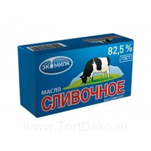 """Масло сливочное """"Экомилк"""" 82,5%, 450 г"""