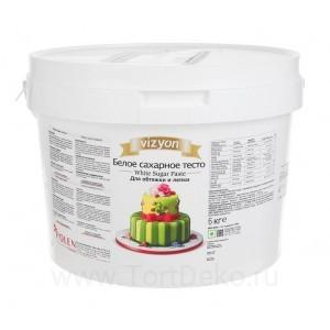 Мастика Vizyon (белая) 6 кг