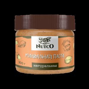 Миндальная паста натуральная NUTCO, 300 г