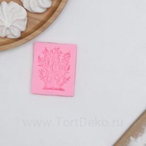 """Молд """"Коралл"""" 6х5,5х1 см, цвет розовый"""