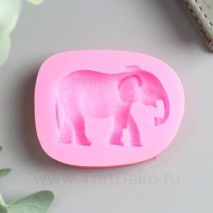 "Молд силикон ""Индийский слон"" 1,2х6х4,8 см"