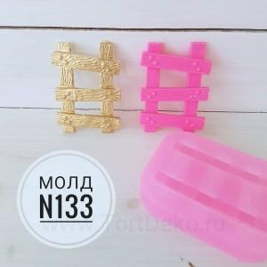 """Молд силиконовый 3D """"Лестница №133"""", 70*50 мм"""