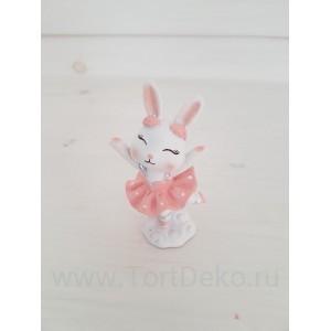 "Молд силиконовый 3D ""Танцующий зайка №55"", h-100 мм"