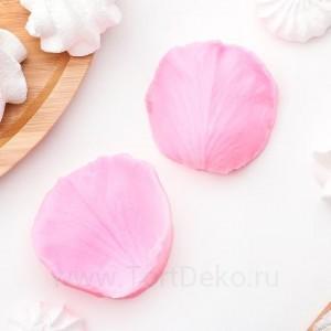 """Молд силиконовый """"Лепесток розы"""", 67*62*14 мм, 2 части"""