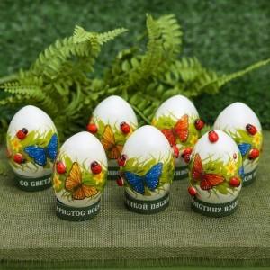 Набор для украшения яиц «Бабочки», 9 х 16 см