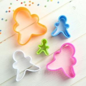 """Набор форм для печенья """"Человечек"""", 5 шт, цвет МИКС"""