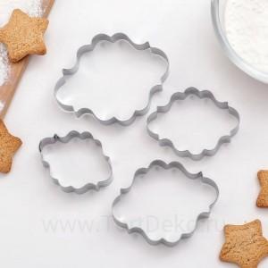 """Набор форм для вырезания печенья """"Рамка для фото"""", (4 шт)"""