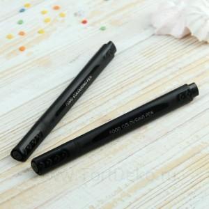 Набор маркеров для украшения десертов 2 шт 20х6,5х1,5 см, черных