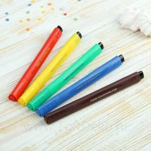 Набор маркеров для украшения десертов 5 шт 21х12х1,5 см, разноцветных