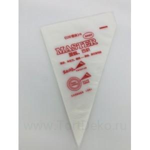 Набор одноразовых кондитерских мешков 25*35 см, 100 шт.