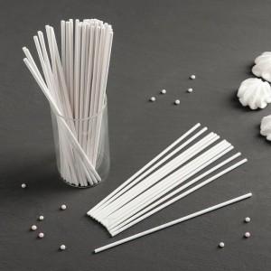 Набор палочек-дюбелей для кондитерских изделий, длина 20 см, 50 шт