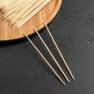 Набор шампуров деревянных 15см 85-90шт d=3 мм