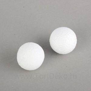 Набор шаров из пенопласта, 6 см, 2 шт