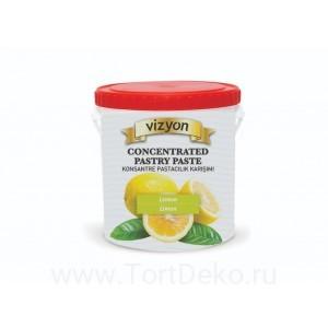 """Паста концентрированная десертная """"Vizyon"""" Лимон, 250 г"""