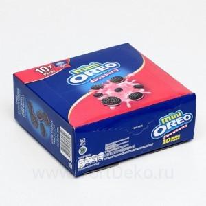 Печенье Oreo Mini Strawberry, 20,4 г