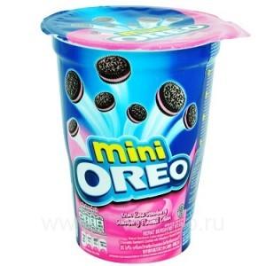 """Печенье """"Oreo"""" Mini Strawberry, 61.3 г"""