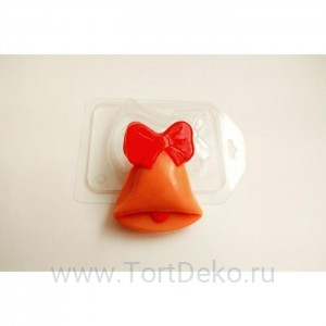 "Пластиковая форма ""Колокольчик"" 8,5х7 см"