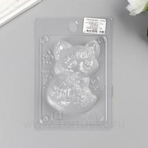 """Пластиковая форма """"Лисёнок"""" Размер готового изделия:90х65х30 мм."""