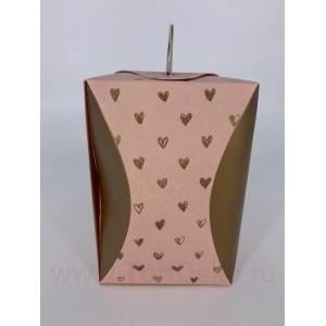 "Пм67 Коробка для кулича ""Пастель"" d90мм"
