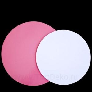 Подложка D300 мм, 3,0 мм (розовая)