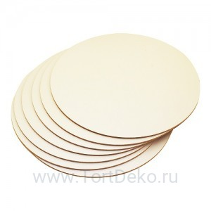 Подложка для торта из фанеры, D=240 мм, толщина 4 мм