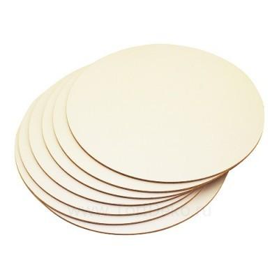Подложка для торта из фанеры, D=260 мм, толщина 3 мм