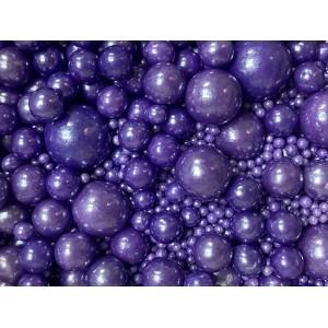 """Посыпка """"ТортДеко"""" Фиолетовая пудра, d=2-10мм, (150 г)"""