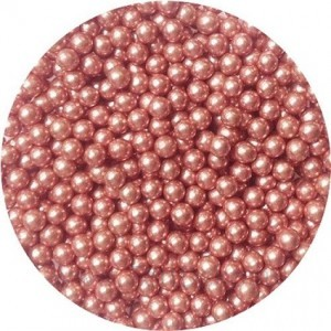 """Посыпка """"ТортДеко"""" Розовый жемчуг, d=4 мм, (100 г)"""