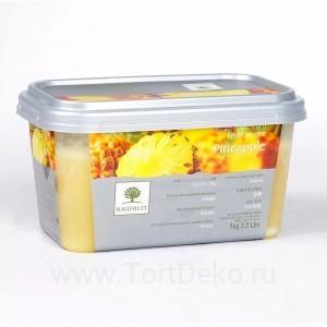 """Пюре замороженное """"Ravifruit"""" Ананас, (1 кг)"""