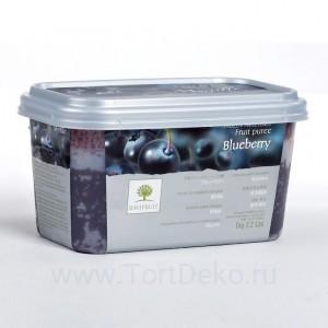 """Пюре замороженное """"Ravifruit"""" Черника, (1 кг)"""