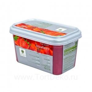 """Пюре замороженное """"Ravifruit"""" Клубника, (1 кг)"""