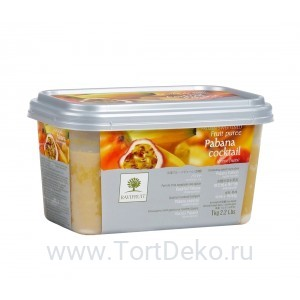 "Пюре замороженное ""Ravifruit"" Маракуйя, (1 кг)"