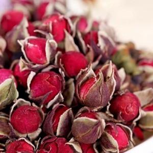 Роза алая сушеная (бутоны), 20 г (сухоцвет)