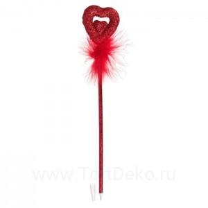 """Ручка """"Сердце"""", цвета МИКС"""
